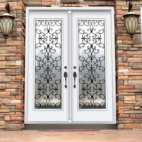 Decorative Door Glass Hellena