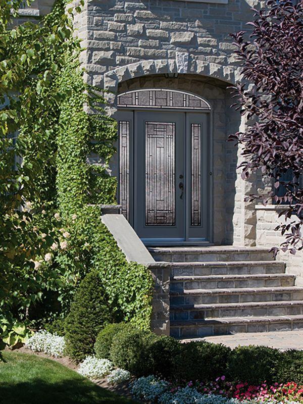 Decorative Door Glass Attraction