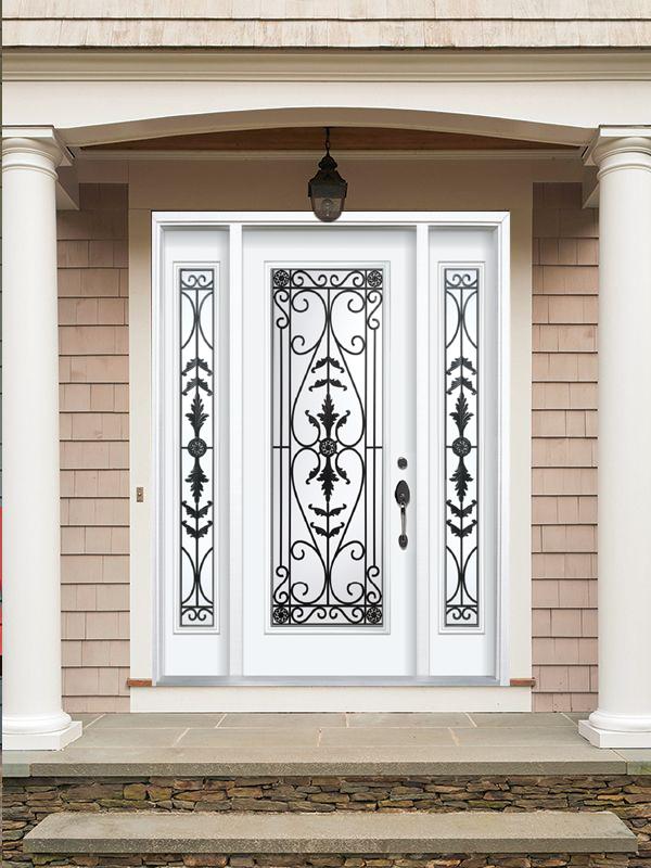 Decorative Door Glass Kamrose
