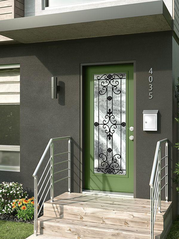 Decorative door glass McMurray