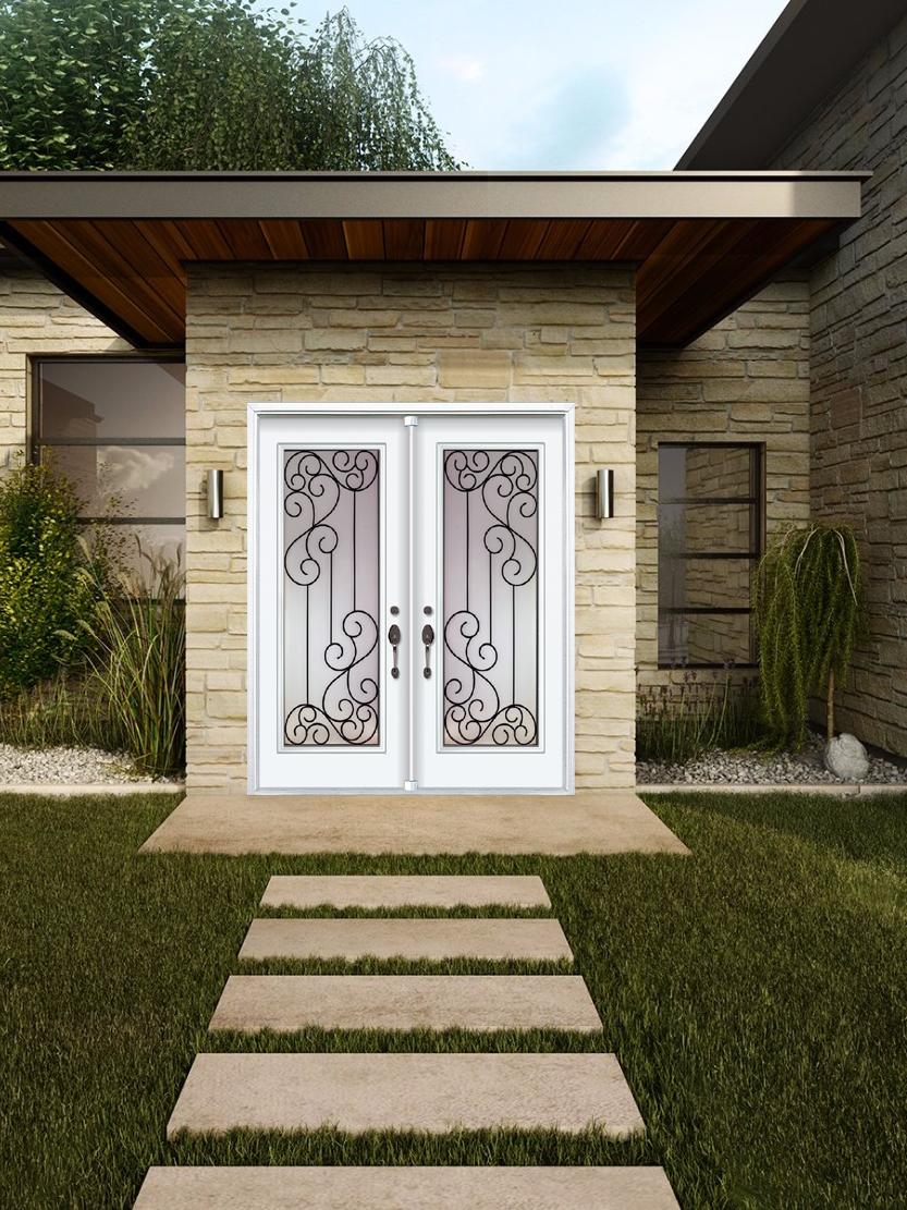 Decorative Door Glass Parksville